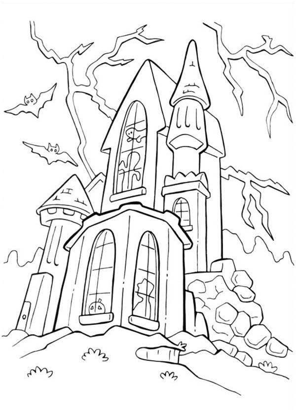 Candy Castle Drawing Download