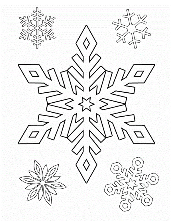 you are welcome to grab the picture or download it through our download button your kids can also print it right into papers through our print it button - Christmas Snowflake Coloring Pages