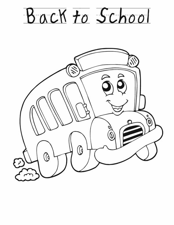 school bus coloring pages school bus safety coloring pages book