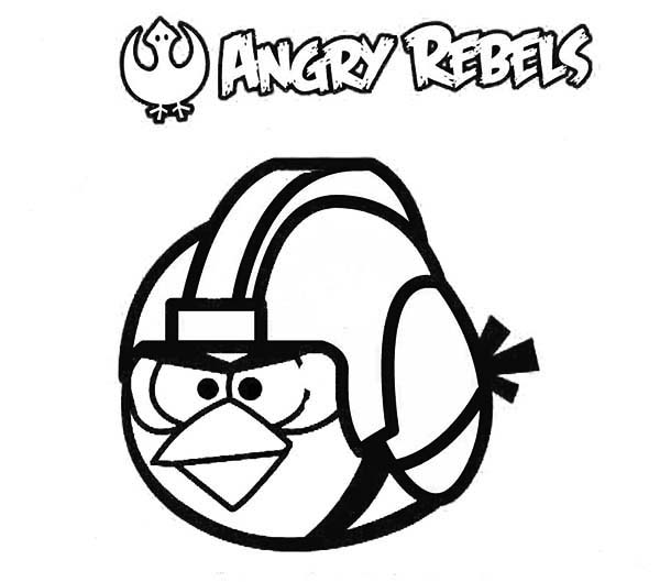 Angry Bird Star Wars Coloring Pages Kidsnfuncom  7 Coloring