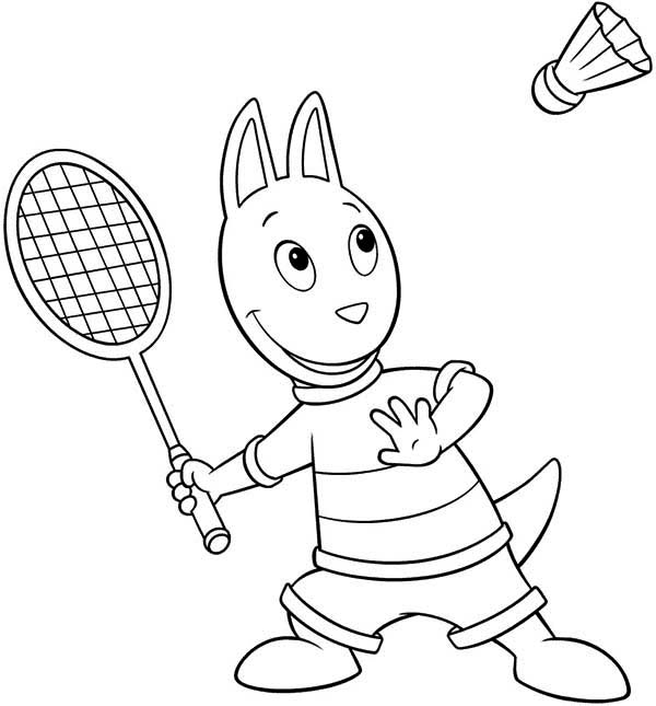 austin doing sport in the backyardigans coloring page austin doing sport in the backyardigans coloring page kids play color - Backyardigans Coloring Pages Print