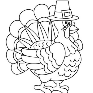 Thanksgiving Coloring Picture Thanksgiving Pilgrim Coloring Page