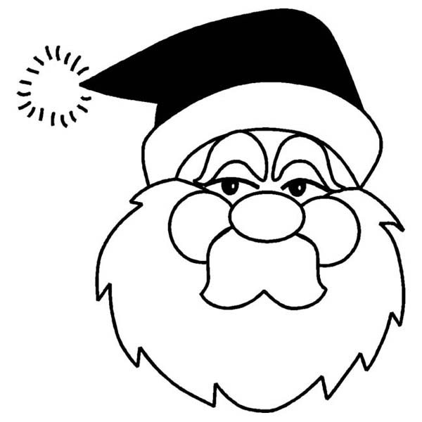 Christmas, : Bad Kid Will Not Get Any Christmas Present This Year Coloring Page