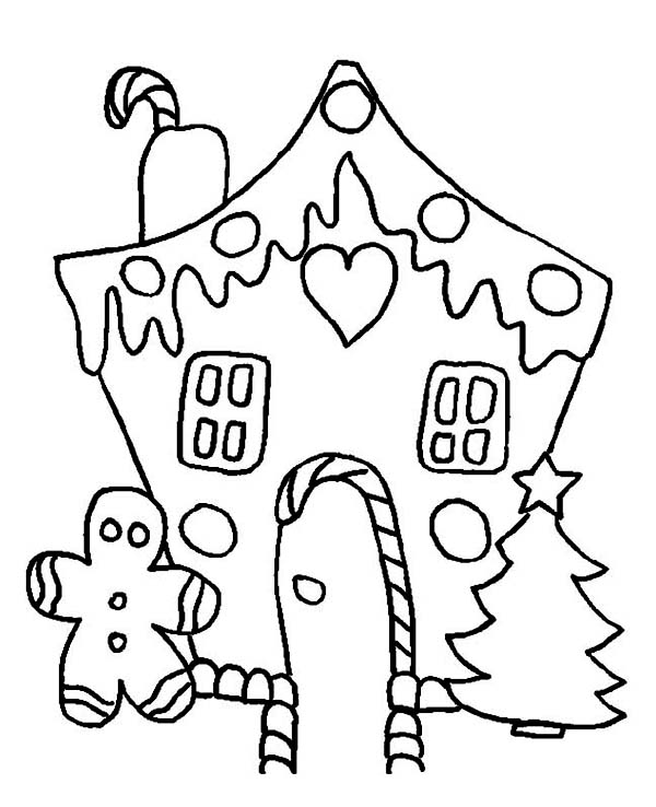 Christmas, : Delicious Christmas Cookies Coloring Page