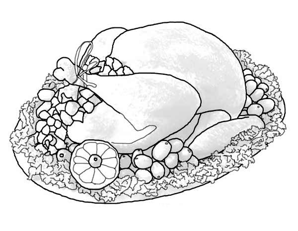 Thanksgiving Day, : Full Sets of Thanksgiving Day Turkey Coloring Page