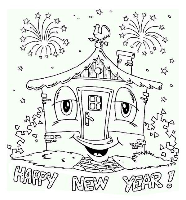 Mickey Mouse New Years Coloring Pages Coloring Pages