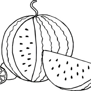 French coloring page learn summer vegetables name in french coloring