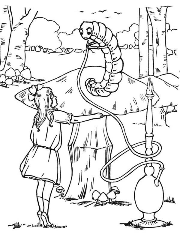 Alice In Wonderland Coloring Pages Affordable Alice In Wonderland