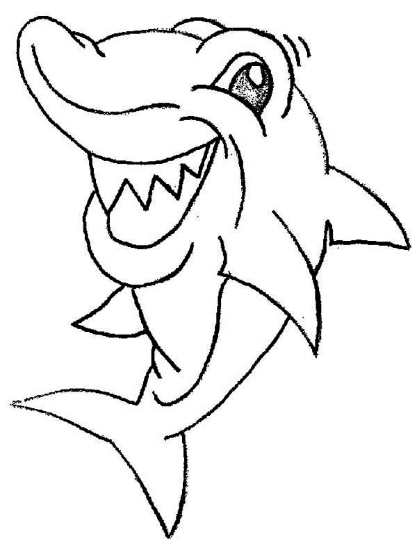 Shark Mermaid Color PagesMermaidPrintable Coloring Pages Free