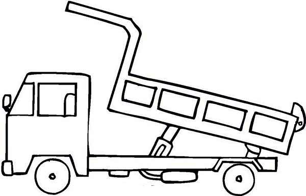 Trucks, : dump-truck-coloring-page-for-kids.jpg