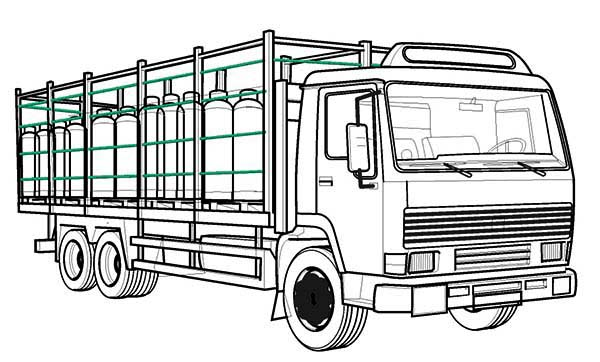Trucks, : tubes-carrier-truck-coloring-page.jpg