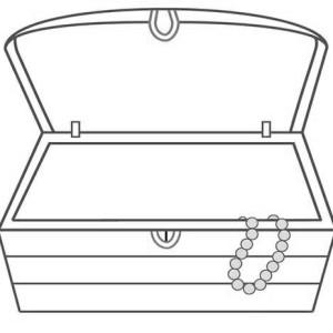 coloring pirates treasure chests index.
