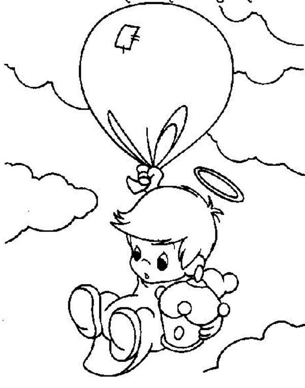 Angel Falling From The Sky Precious Moments Baby Angels Drawings