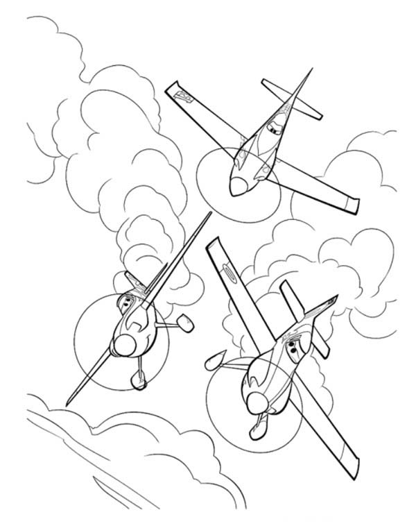 Disney Planes Coloring Pages Colouring Free On
