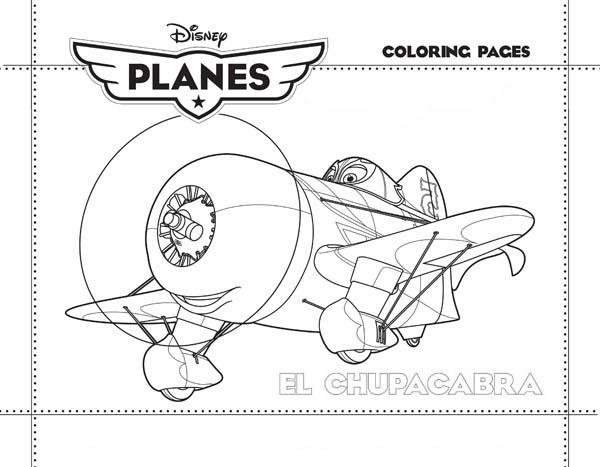 disney planes el chupacabra coloring page for kids coloring trend