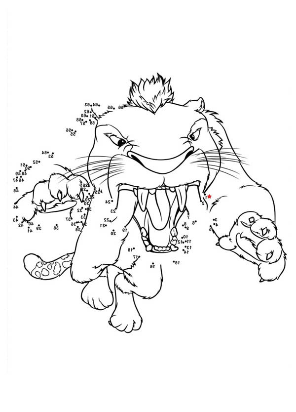 The Croods, : Lets Drawing Macawnivore from the Croods Coloring Page
