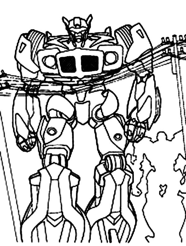 Transformers, : Awesome Optimus Prime Transformers Coloring Page