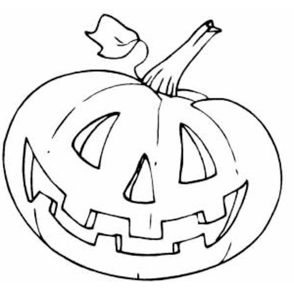 Pumpkins, : Halloween Pumpkins Coloring Page