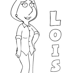 peter griffin from family guy coloring page peter griffin from