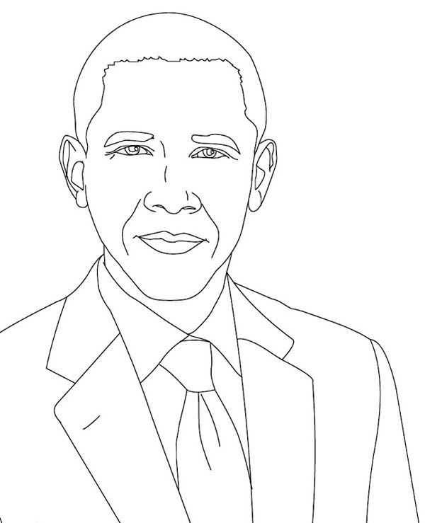obama coloring pages - photo #11