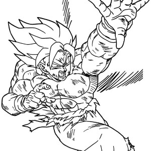 dragonball z coloring pages - Dragon Ball Coloring Pages Goku
