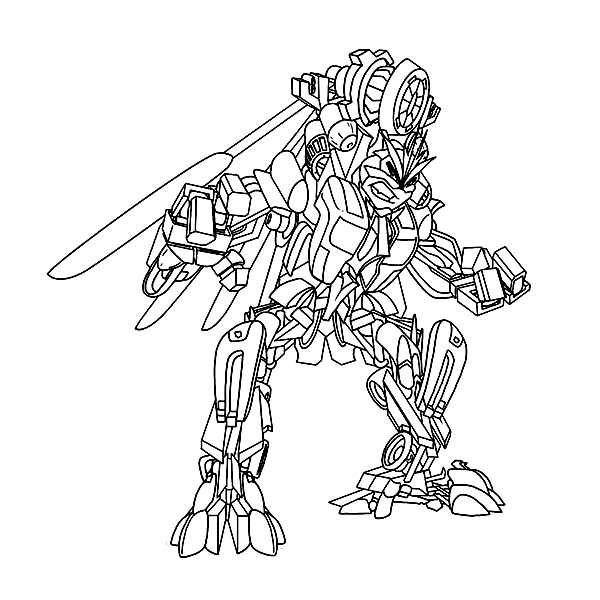 Transformers, : Windmill from Transformers Coloring Page