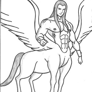 How To Draw Cool Stuff additionally Mermaid Skeleton further The Sagittarius Centaur Zodiac Coloring Page 2 together with Agena as well 289074869805878490. on centaur names