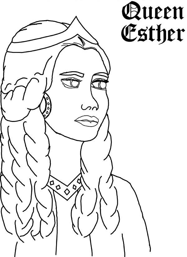colouring picture queen queen esther picture coloring page kids play color