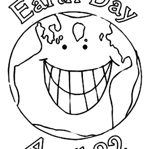 Our Earth On Day Coloring Page Kids Play Color