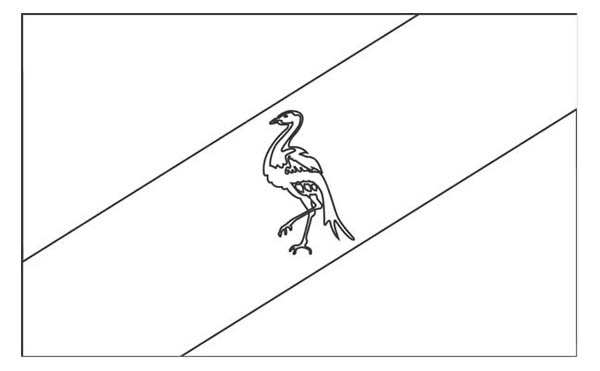 Nation Flag, : Ciskei Nation Flag Coloring Page