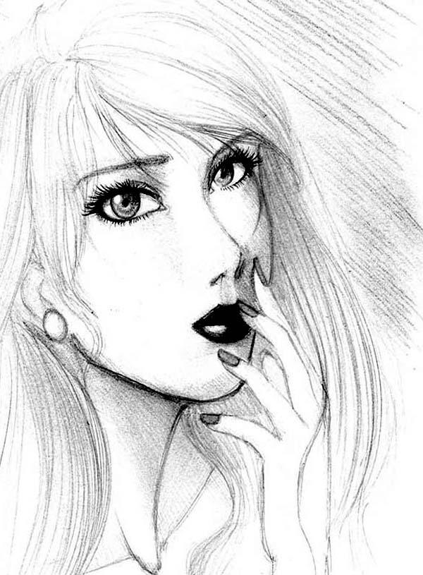Aphrodite, : Beautiful Aphrodite Sketch Coloring Page