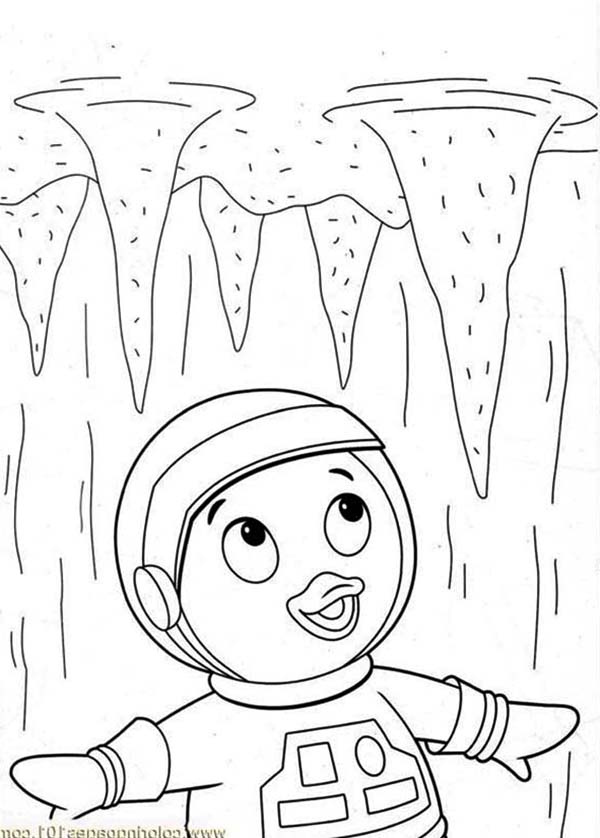 The Backyardigans, : Pablo Saw Some Stalactite in the Backyardigans Coloring Page