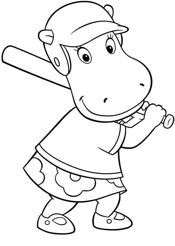 view original size backyardigans coloring pages - Backyardigans Coloring Pages Print