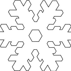 christmas snowflakes stellarplate tactile coloring page - Christmas Snowflake Coloring Pages
