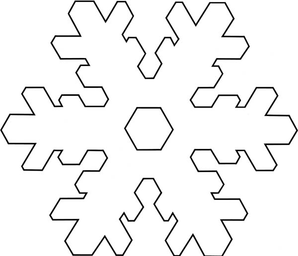 Christmas, : Christmas Snowflakes Stellarplate Tactile Coloring Page