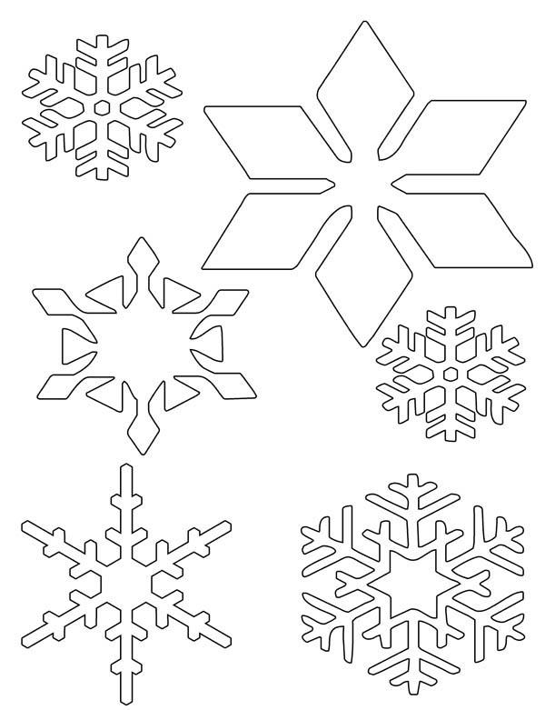 christmas snowflakes wonder coloring page - Christmas Snowflake Coloring Pages