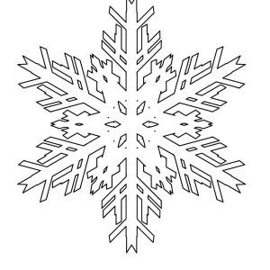 melting christmas snowflakes coloring page - Christmas Snowflake Coloring Pages