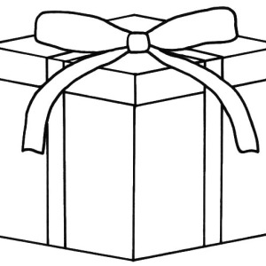 Coloring Pages Of Presents Miakenasnet