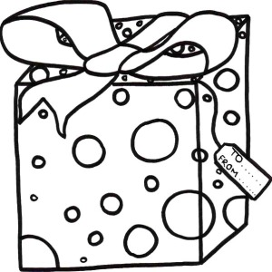 christmas presents for moms coloring pages