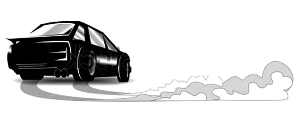 Drifting Cars, : Art Picture of Drifting Cars Coloring Pages