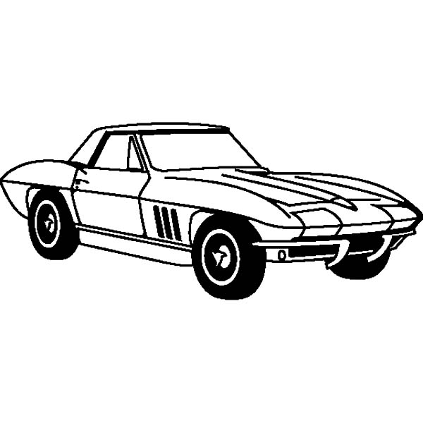 chevrolet cars corvette 1963 coloring pages kids play color - Corvette Coloring Pages Printable