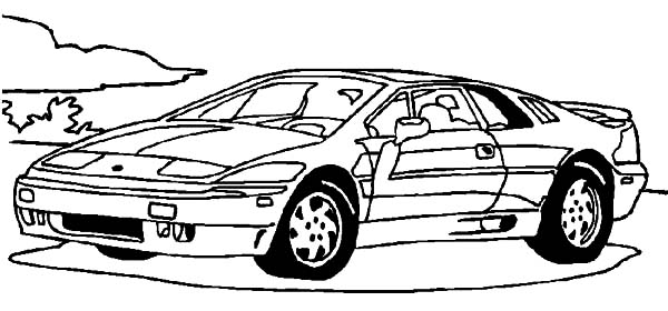 Corvette Cars, : Corvette Racing Cars Coloring Pages