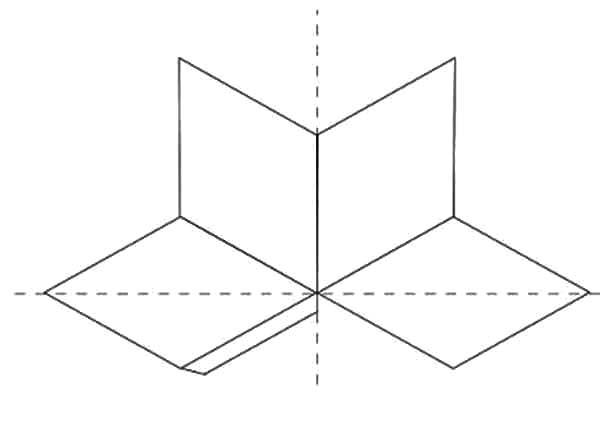 Diamond Shape, : Diamond Shape Box Coloring Pages