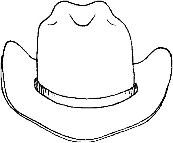 Cowboy Hat, : Drawing Cowboy Hat Coloring Pages