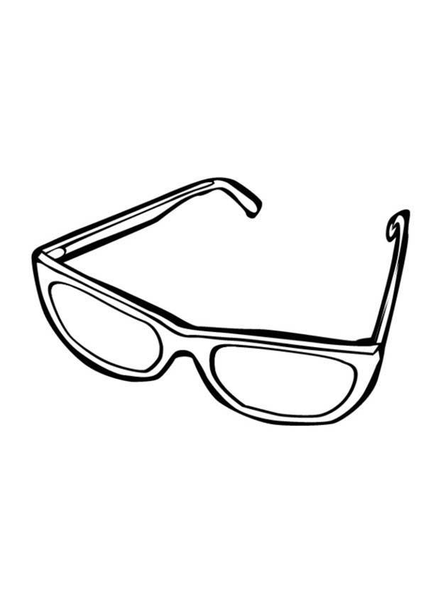 Eyeglasses, : Drawing Eyeglasses Coloring Pages
