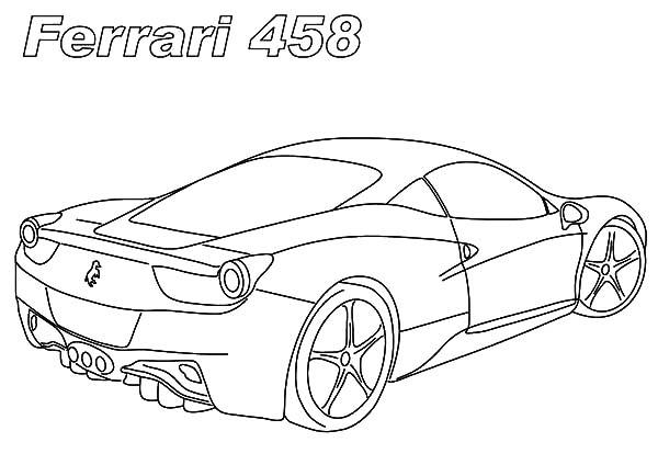 Ferrari Cars, : a4size