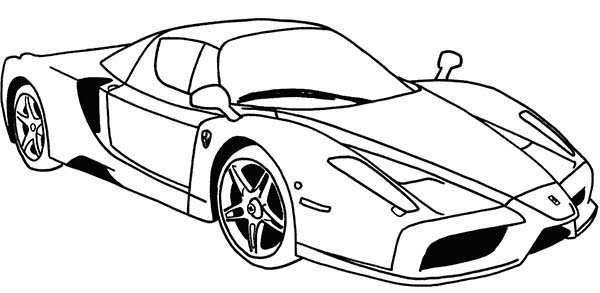 Ferrari Cars, : Ferrari Sport Cars Coloring Pages