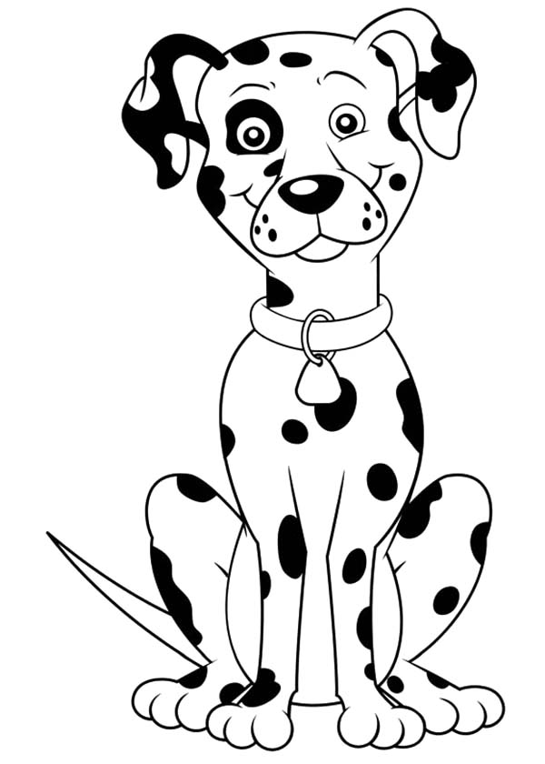 Fire Dog, : Fireman Sam Fire Dog Coloring Pages