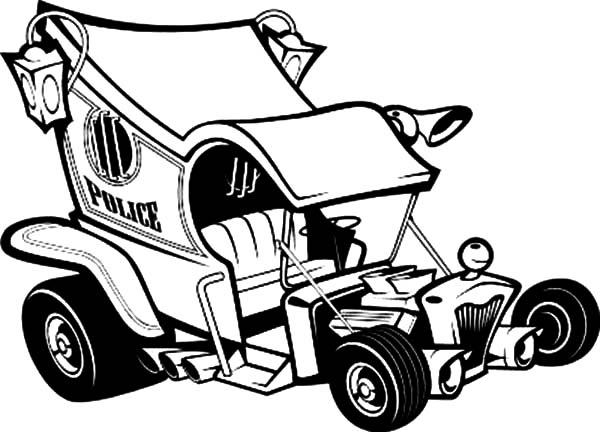 Coloring Pages Model T Ford : Ford model t hot rod cars coloring pages:
