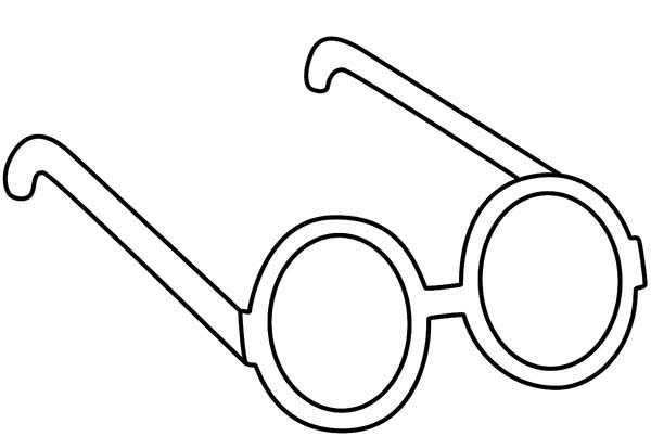 Eyeglasses, : John Lennon Eyeglasses Coloring Pages